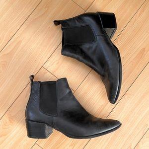 Steve Madden Vanity black pointy ankle boots 7.5